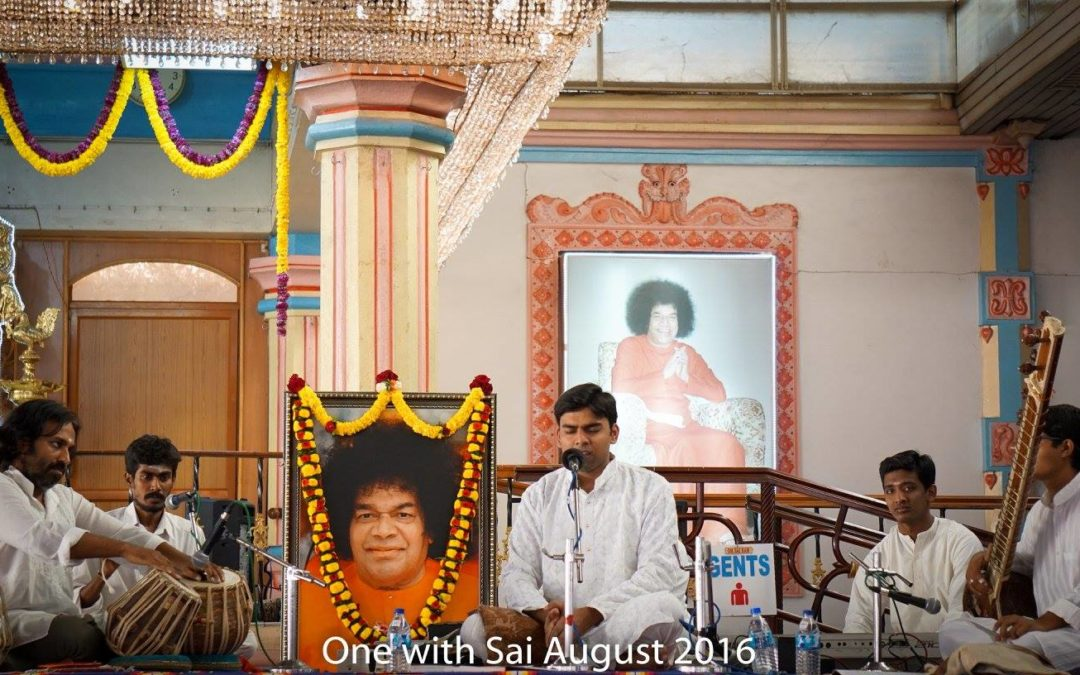 ONE WITH SAI : 28th August 2016 – Sri. Vivek Karmahe and Party