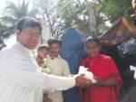 Rice Distribution to Summanahalli Slum Dwellers