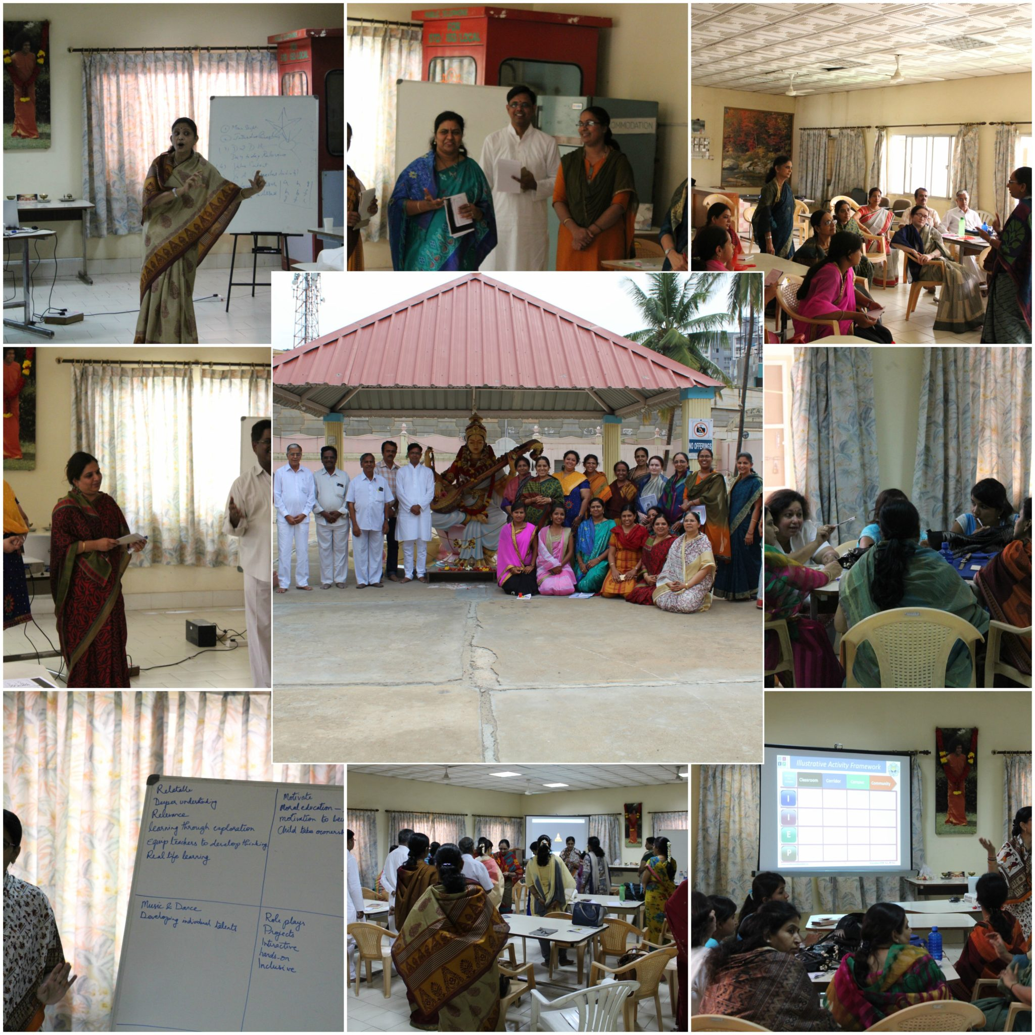 Training sessions by SSSVV Karnataka