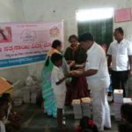 Books Distribution in SSSVJ Schools Bellary