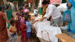 Guru Purnima Celebrated by Malleswaram Samithi in SSSVJ Schools in Bangalore Central District