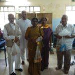 Monthly Seva activity in hospital by Banshankari Samithi