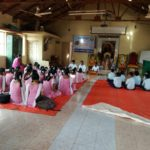 Bhajan Training and Service Activities @ Prashanti School, Siddapura, North Kanara