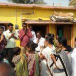 Fortnight Narayan Seva at Slum by Mudhol Seva Samithi, Bagalkot District
