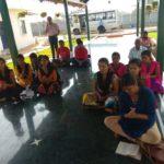 SSSVJ Students of Haliyal, North Kanara @Chikkaballapura Industry
