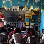 Balvikas Class @SSSVJ Neelavni, Haliyal, Uttara Kannada