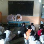 Weekly Bhajans commence at SSSVJ school, Ramanagara dist.