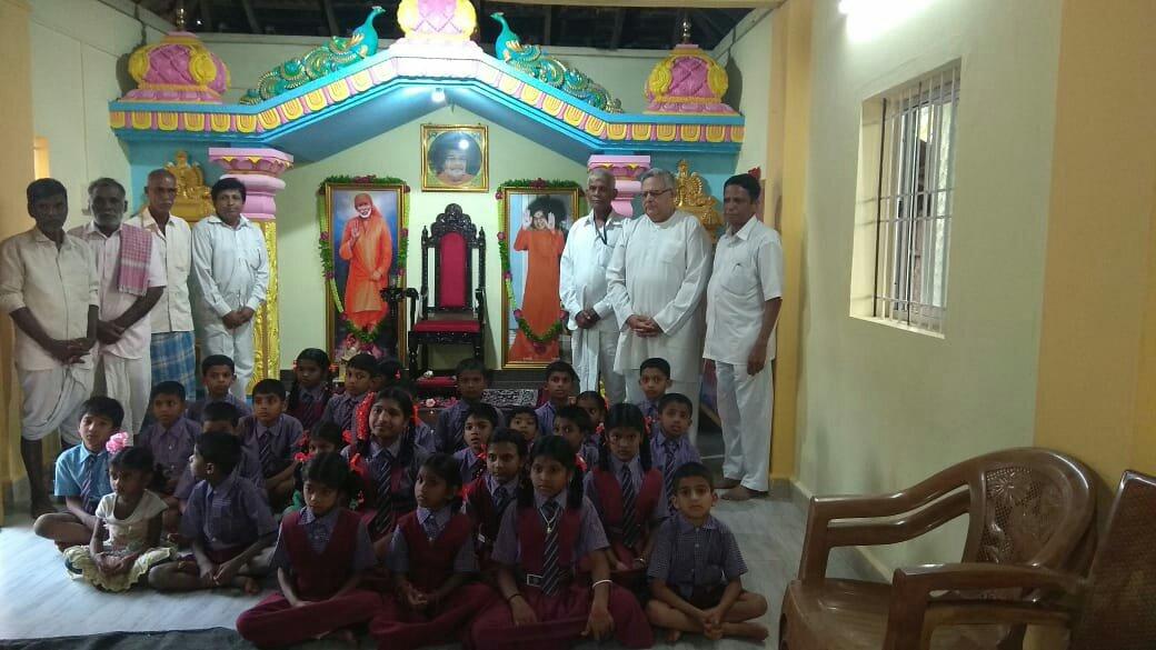 Sathya Sai Mandira renovation @ Uttara Kannada