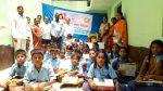 Uniform Distribution to school students of Balepete school ,Ramanagara