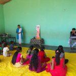 Balvikas Camp; Yoga Class @SSSVJ Domgera, Haliyal, Uttara Kannada