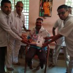 Certificate Of Appreciation By Prashanti Nilayam For Long Term Service @Uttara Kannada