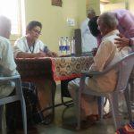 Medical camp at Davangere