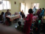 Medical camp at Malashetty village, Davangere