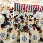 SSSVJ School children come to Brindavan