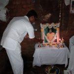 Household Bhajans at SSSVJ School students house, Ramanagara district