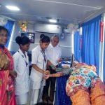 1st Medical Camp by SSSD&GMC @Halga, Karwar, Uttara Kannada