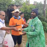 Flood relief in Shivamogga district