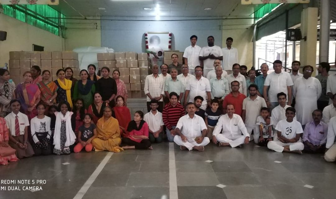 Flood relief packages – Packing and Dispatch – Bengaluru