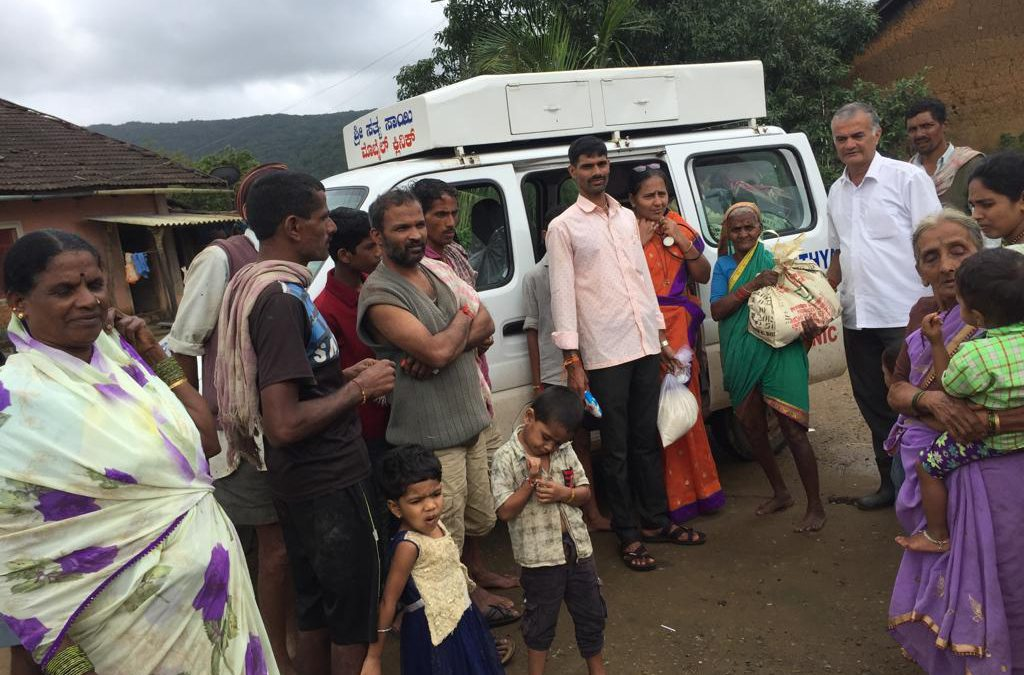 Flood Relief – Day 6 @ Belagavi
