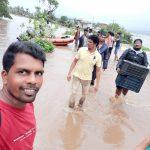Flood Relief Day 1@Karwar, Uttara Kannada
