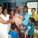 Baby Kit Distribution as Flood Relief @Karwar, Uttara Kannada