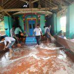 Cleaning In Flood Affected Area @Hankon, Karwar, Uttara Kannada