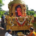 Pooja to Swami's Chariot for Bike Pilgrimage