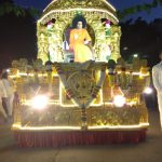 Chariot reaches Puttaparthi