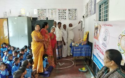Water Purifier installed at SSSVJ School, Mysuru