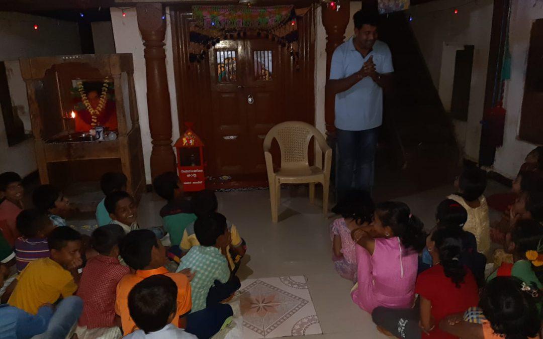 Study Circle @SSSVIP Pandarwal, Haliyal, Uttara Kannada