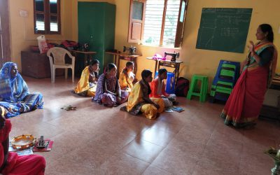 Vocational Training Class @SSSVJ Neelavani, Haliyal, Uttara Kannada