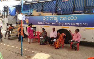 Sri Sathya Sai Dental and General Mobile Clinic Camp @Yadoga, Haliyal, Uttara Kannada